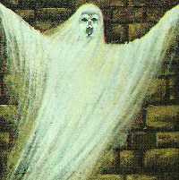 A picture of a ghost