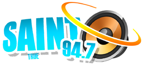 The Saint FM logo - Home of the Writer's Block radio show