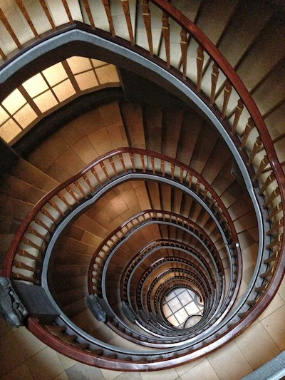 The spiral staircase of web content marketing success