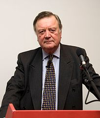 A picture of Ken Clarke whose use of the term eurorealist presents a copywriting problem