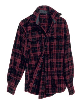 Picture of the Rebel Plaid Shirt from J. Peterman
