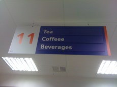 Picture of a misspelled sign demonstrating the importance of spellchecking in copywriting