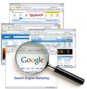Picture of some search engines
