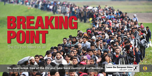 Nigel Farage's Breaking Point poster proves great copywriting and advertising is worth stealing